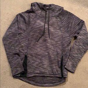 Brushed hooded sweatshirt